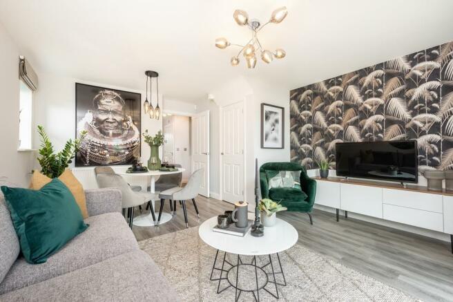 Norbury open-plan living space