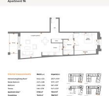 Apt 16 Floor Plan