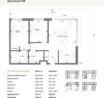 Apt 58 Floor Plan