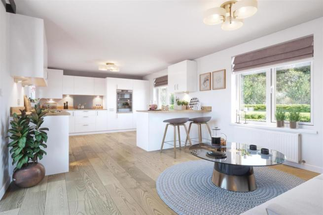 Artist's Impression of a Typical Taylor Wimpey Home