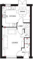 Floor plan Archford Ground Floor
