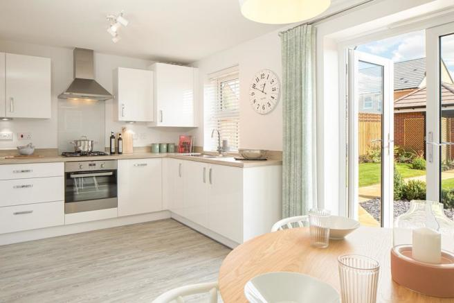 The Archford Plot 2 Kitchen and French doors