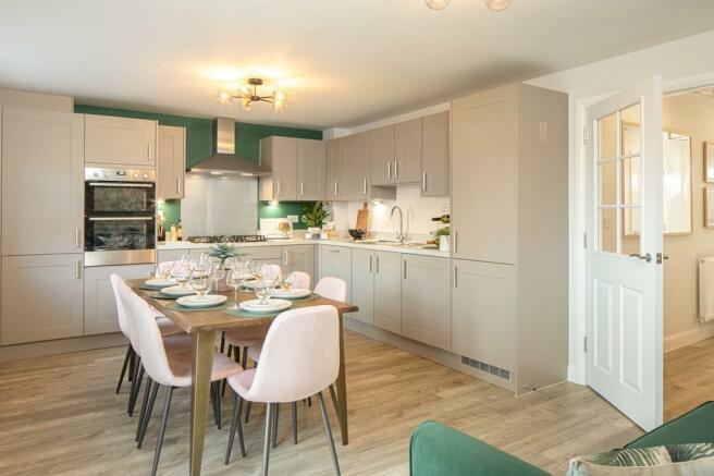 Plot 2 Stambridge Kitchen/ dining area