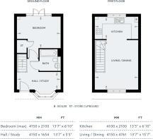Grd & 1st Floor plan