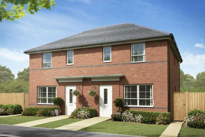 Exterior view of our 3 bed Ellerton home