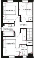 Fradley Manor Ellerton First Floor Plan