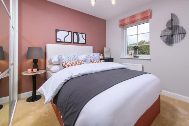 Bedroom of 3 bedroom Ellerton home