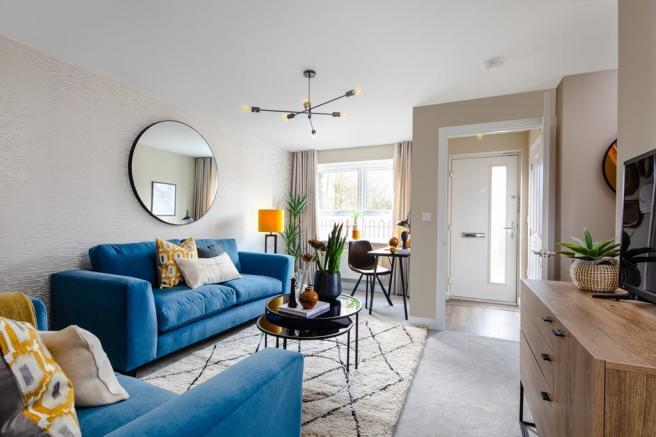 Inside view of the lounge. The Maidstone. 3 bed home.