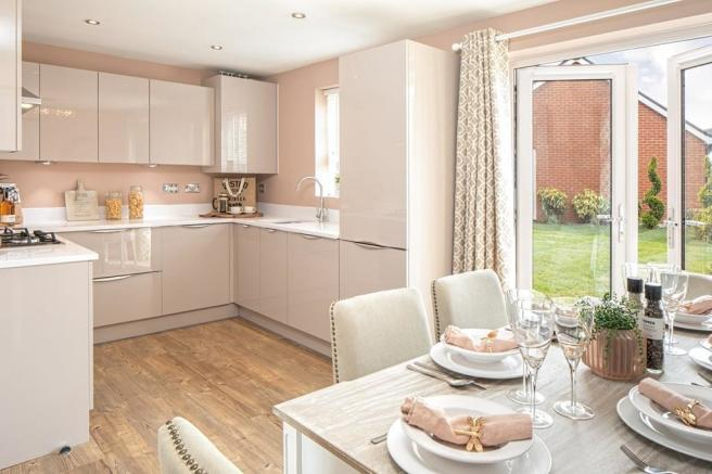 kitchen and dining area moresby 3 bedroom home