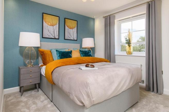 Main bedroom at the Ellerton