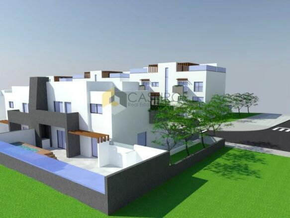Plot for 4 bedroom villa with swimming pool - Fuzeta, Algarve