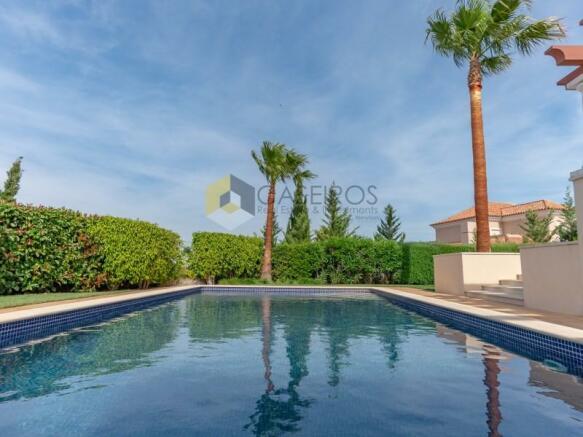 Villa 40 - Pool area