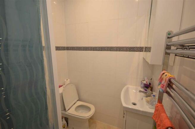 Groundfloor shower