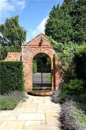 Gate To Side Gardens