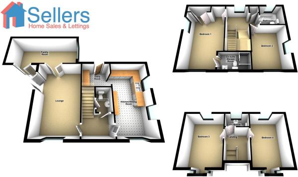 Floor plans 3d