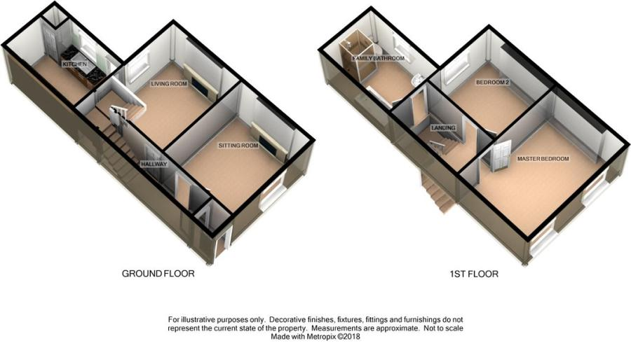 2 Bedroom Terraced House For Sale In St Marie Street Bridgend