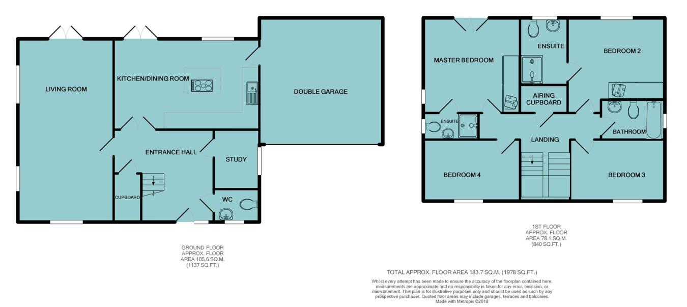 4 bedroom detached house for sale in West Road, Bransgore ...
