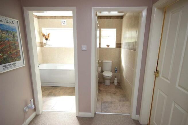 BATHROOM & GROUND FLOOR WC