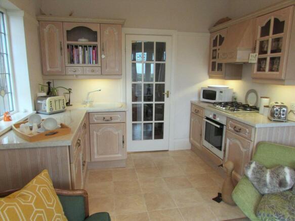 Kitchen Lounge View