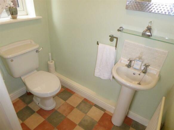 Downstairs W/C: