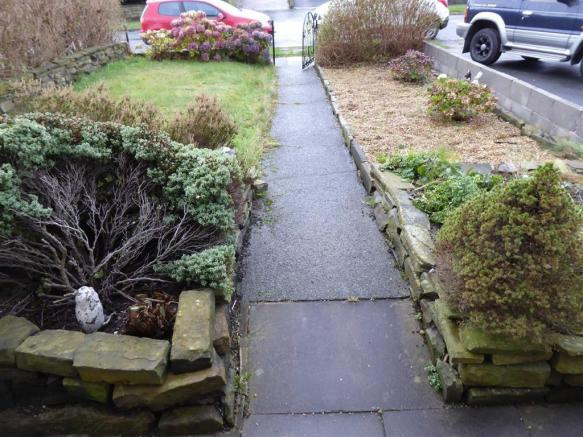 Front and Rear Gardens: