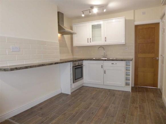 Newly Fitted Kitchen: