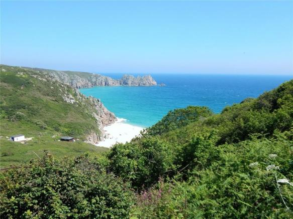 Nearby Porthcurno...