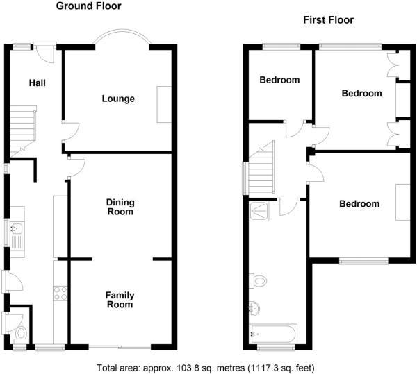 Hillview London Road,Ryarsh (Floorplan) 12510137