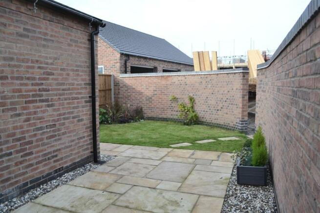 Rear Garden (Plot 3)