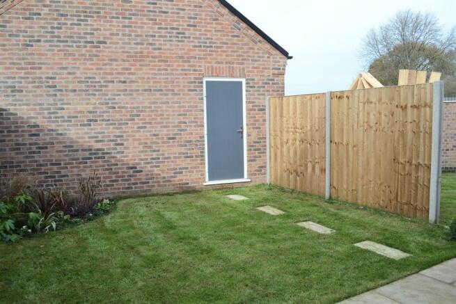 Rear Garden (Plot 2)