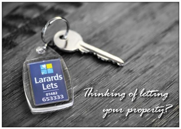 Are you thinking about letting your property?