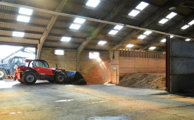 Biomass Shed