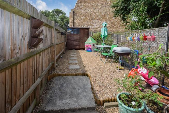 Private West Facing Garden