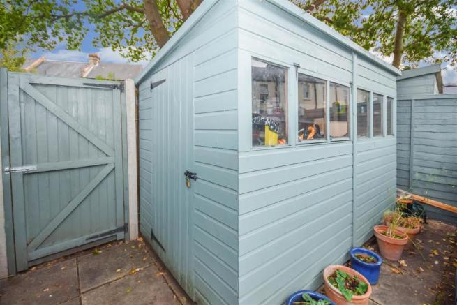 Garden Storage & Rear Access