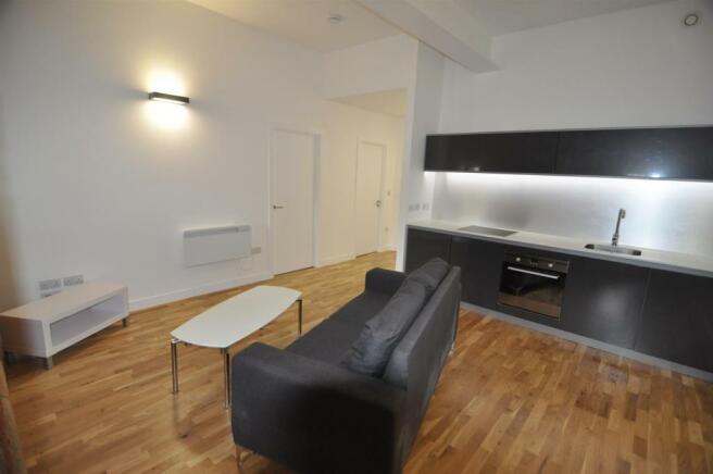 Open-Plan Lounge Kitchen