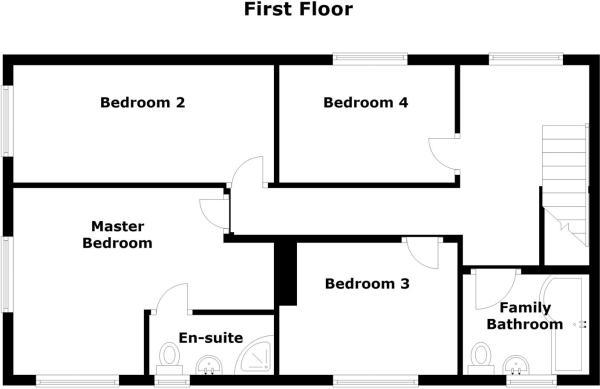 4 Grange Farm Cottages, Cottam, Retford - Floor 1-