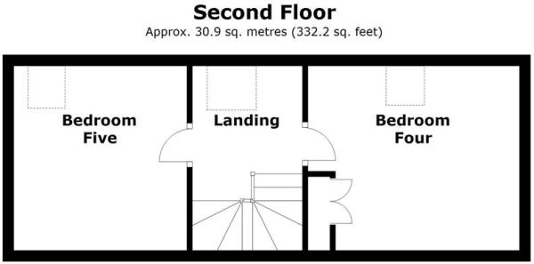 Plots 3 & 5, Rectors Gate, Retford - Floor 2.j