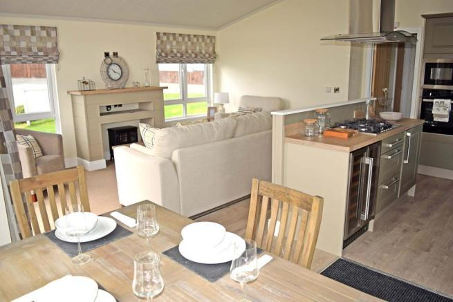 Dining Area to Sitting Room