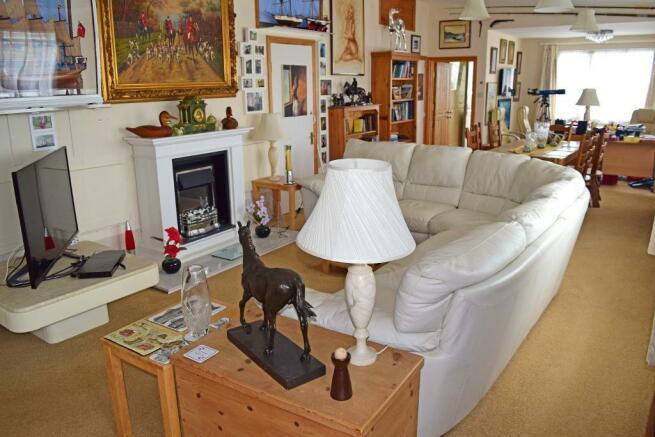 Open Plan Sitting Room + Dining Room