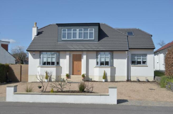 loft conversion ideas glasgow - 5 bedroom detached bungalow for sale in 9 Albert Drive