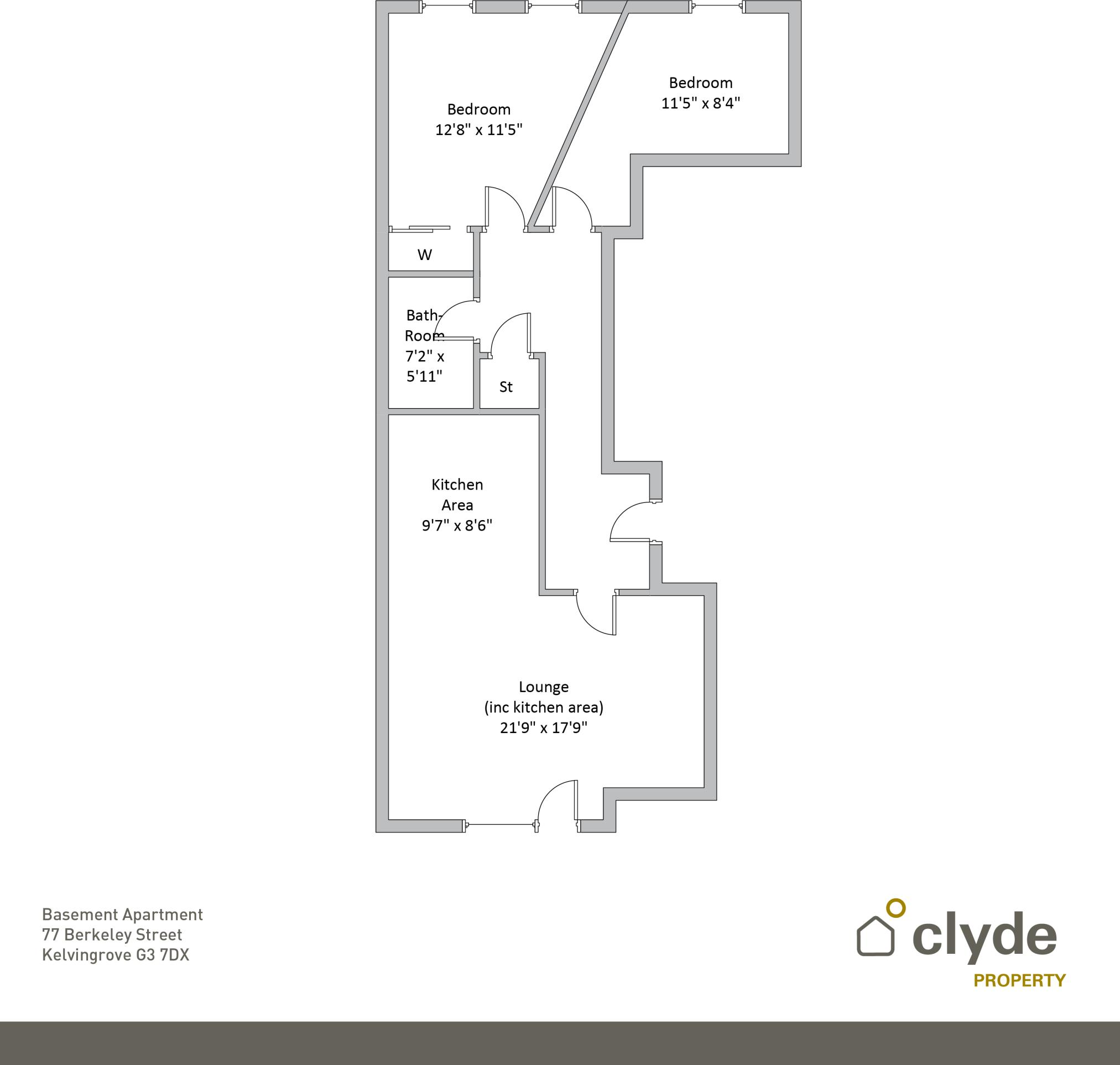 15 bedroom flat for sale in Berkeley Street, Kelvingrove, Glasgow ...