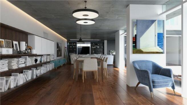 Bath Living Area