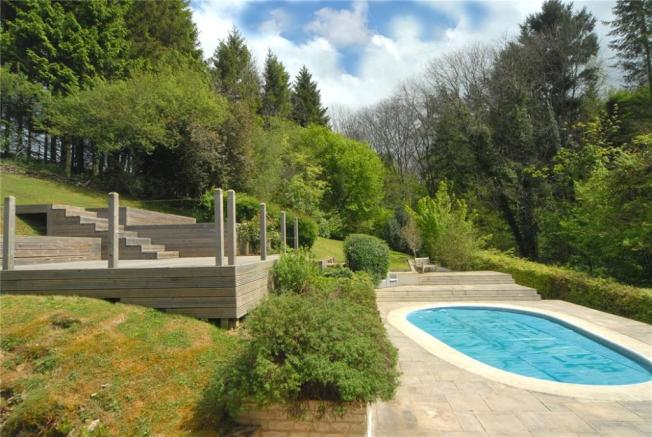 Decking and Pool