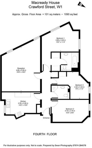 1090 sq ft (approx.)