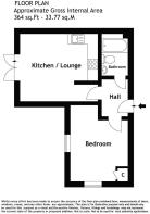 Floorplan Flat 2 62 Grove Road Chadwell Heath Romf