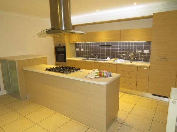 Kitchen/Dining/Reception Area