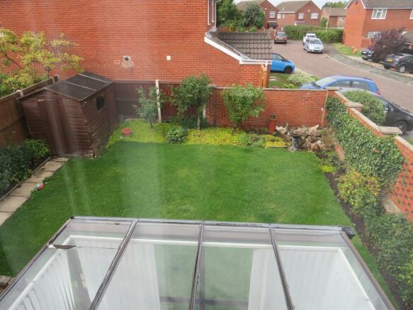 Southerly Facing Rear Garden:-