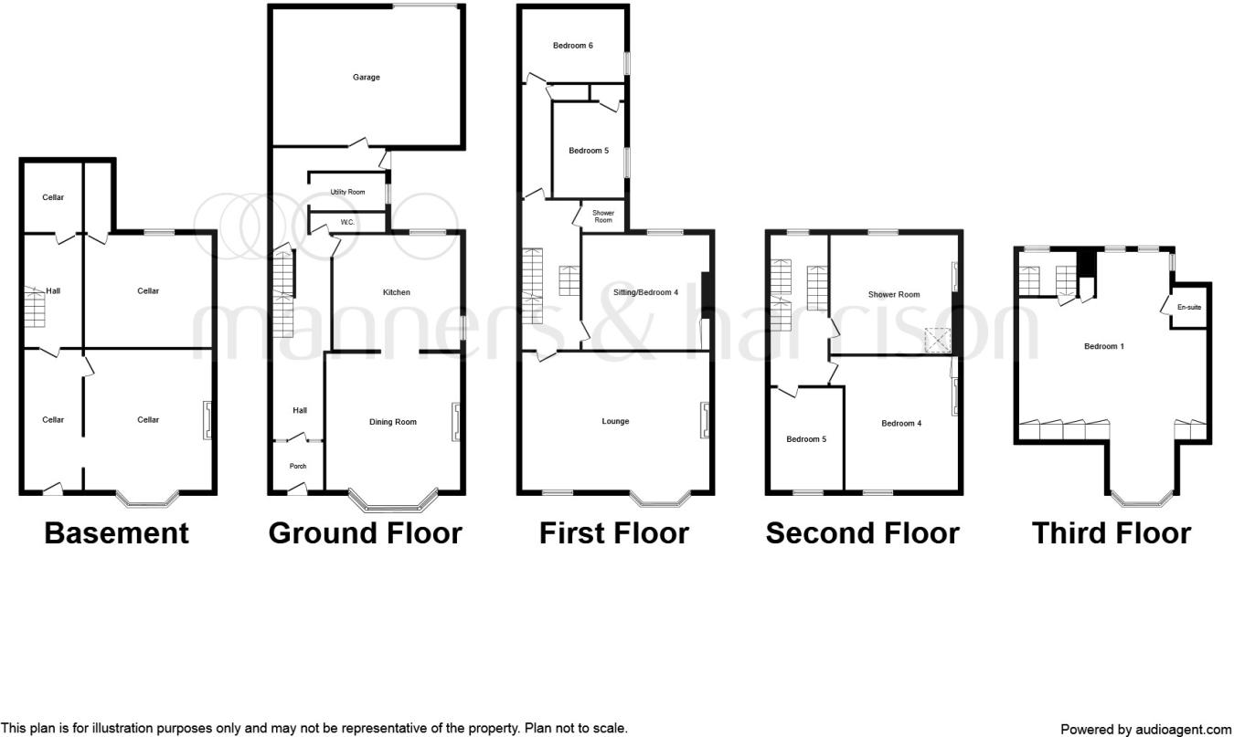 6 Bedroom End Of Terrace House For Sale In Cliff Headland Average Cost Rewiring A Terraced Hartlepool Ts24