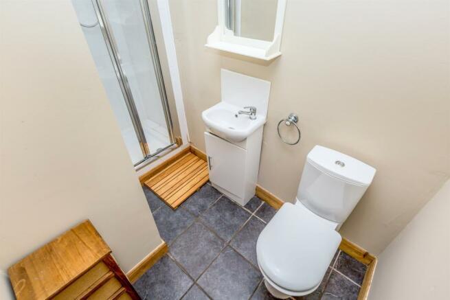 Ground Floor Shower Room: