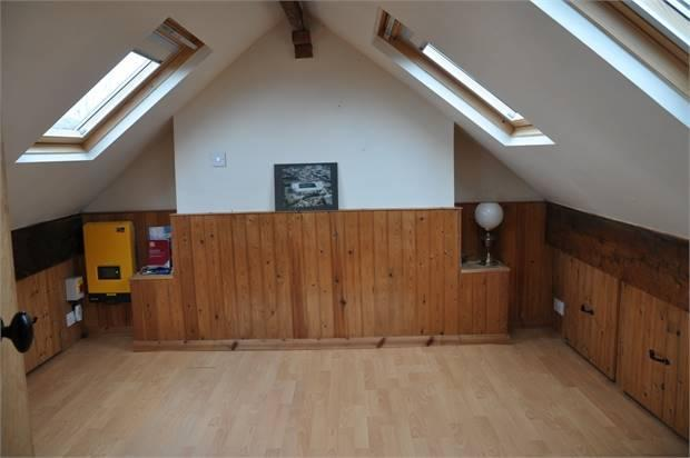 Converted Attic Room